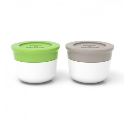 Monbento Sauce cups Temple S, grey/green